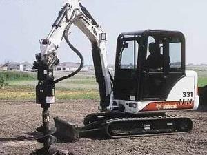 你植树,我挖坑,山猫土钻效率高!