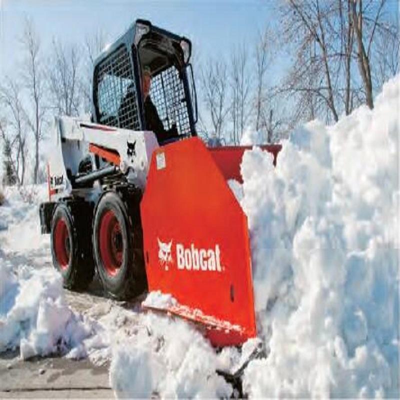 山猫推雪箱