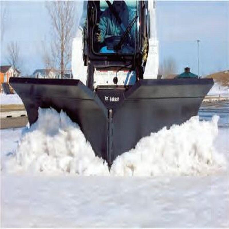 V型推雪板